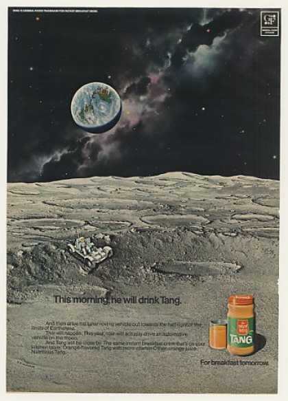 Tang Orange Breakfast Drink Moon Lunar Rover (1971)