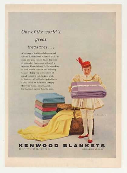 Kenwood Blankets Treasures Kenwood Courier Girl (1955)