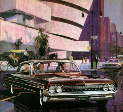 Drive this full-size dollar-saver! Oldsmobile Dynamic 88 (1961)