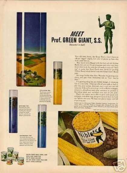 Green Giant Niblets Corn (1944)