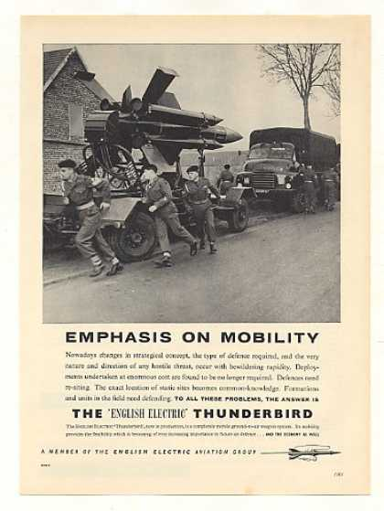 '59 English Electric Thunderbird Weapon System Photo (1959)
