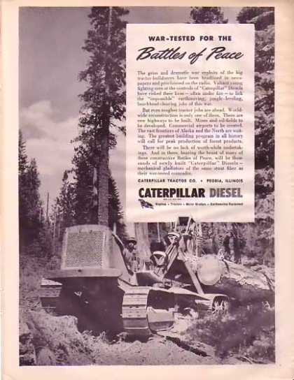 Caterpillar Tractor Company – Battles of Peace (1945)