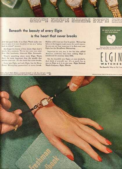 Elgin's Watches (1951)
