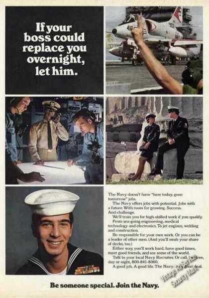 "Us Navy Recruiting ""Be Someone Special"" (1974)"