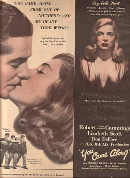 You Came Along (Robert Cummings) (1945)
