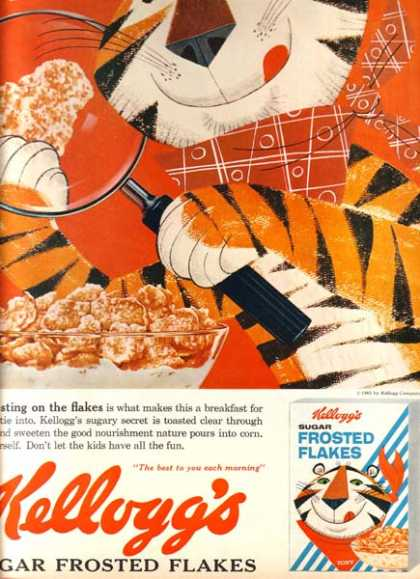 Kellogg's Tony the Tiger (1961)