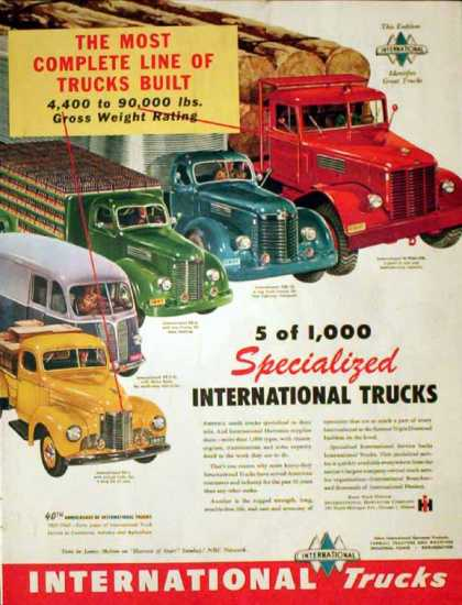 International Trucks – 40th Anniversary – Sold (1947)