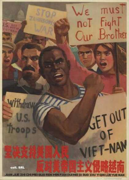 Resolutely support the American people in their resistance against American imperialist aggression in Vietnam (1966)
