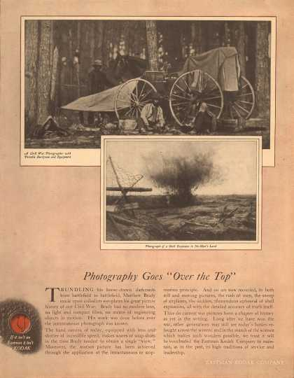 "Kodak – Photography Goes ""Over the Top"" (1919)"