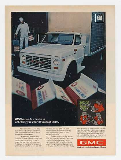 GMC Milk Delivery Truck (1969)