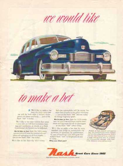 Nash 600 Car – Blue (1948)