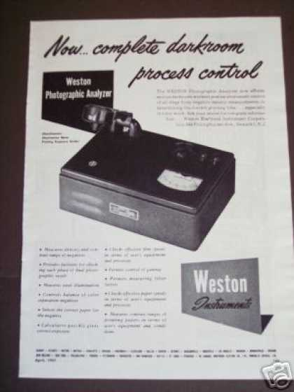 Weston Instruments Photographic Film Analyzer (1947)