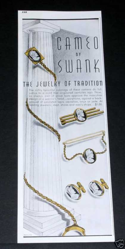 Swank Cameo, Jewelry Tradition (1941)
