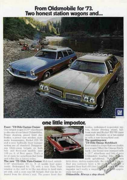 Oldsmobile Station Wagons & Omega Hatchback (1973)