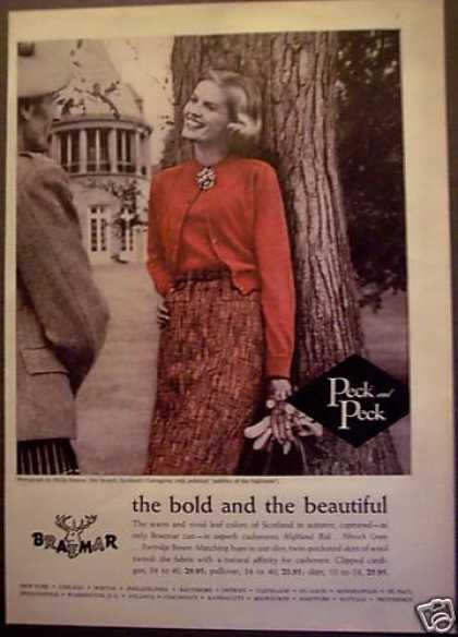 Braemar Clothing Womens Fashion (1956)
