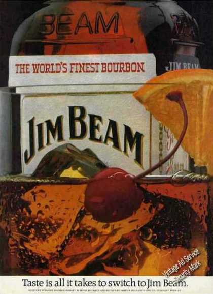 "Jim Beam ""Taste Is All It Takes To Switch"" (1981)"