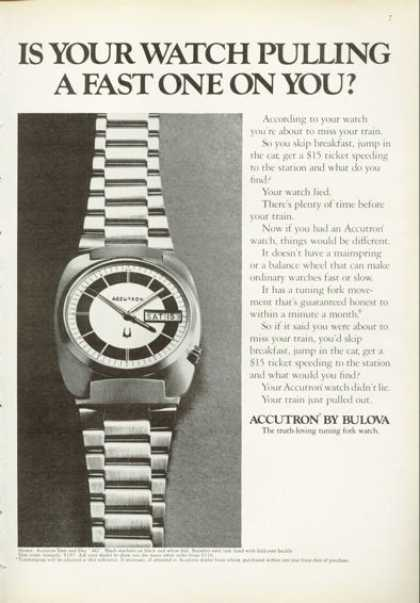 Bulova Accutron Date and Day Watch (1972)