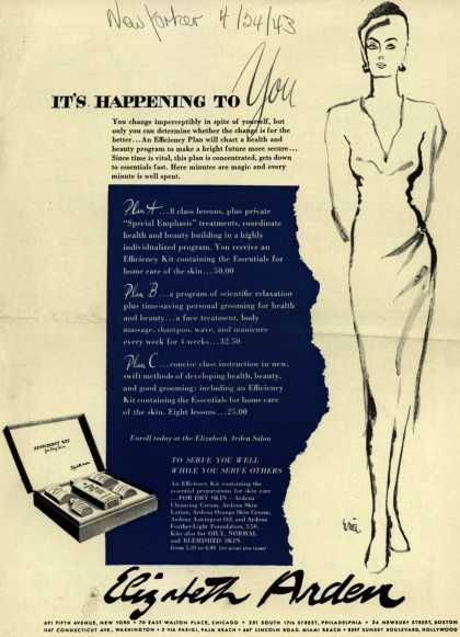 Elizabeth Arden's Efficiency Kit – It's Happening To You (1943)