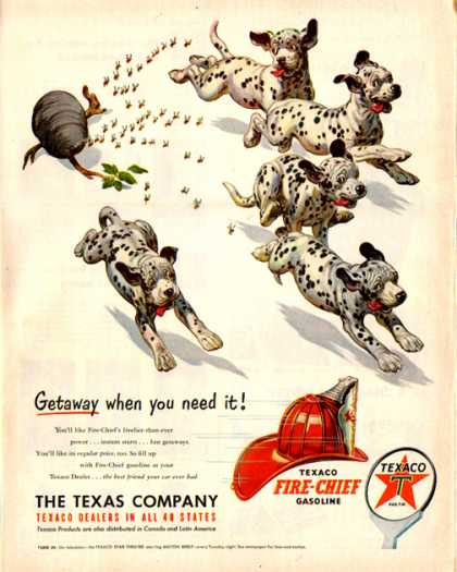 Texaco Fire Chief – Dalmatians (1951)