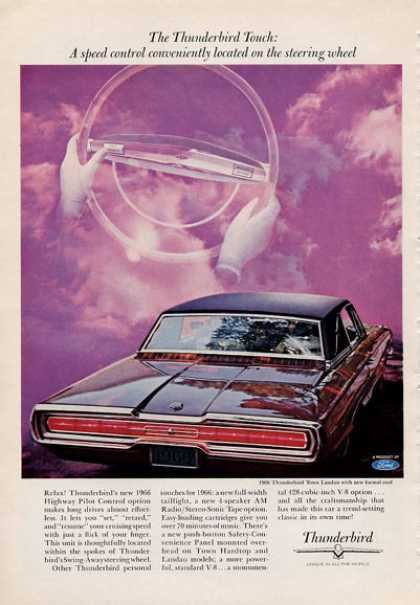 For the '66 Ford Thunderbird Town Landau (1965)