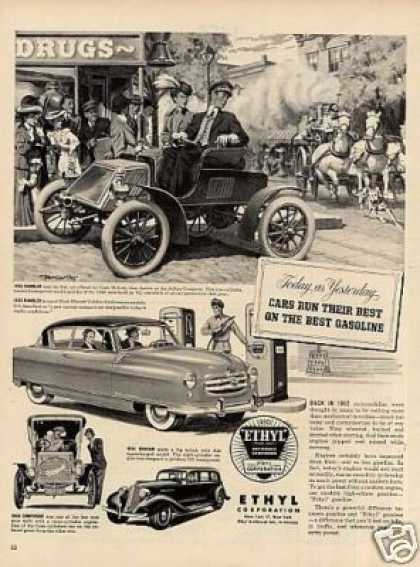 Ethyl Ad 1902 Rambler Car (1952)