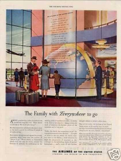 Airlines of the United States (1945)