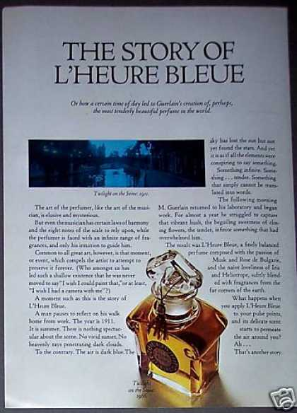 Guerlain Twilight On the Seine Perfume Bottle (1967)