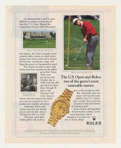 '93 US Open Golfer Tom Kite Rolex Oyster Watch (1993)