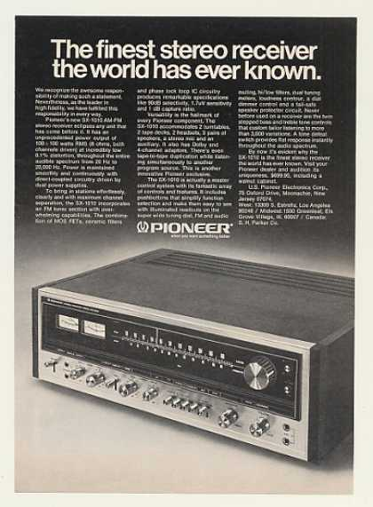 Pioneer SX-1010 Stereo Receiver (1974)