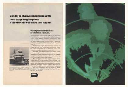 Bendix Weathervision Airborne Weather Radar 2-P (1974)