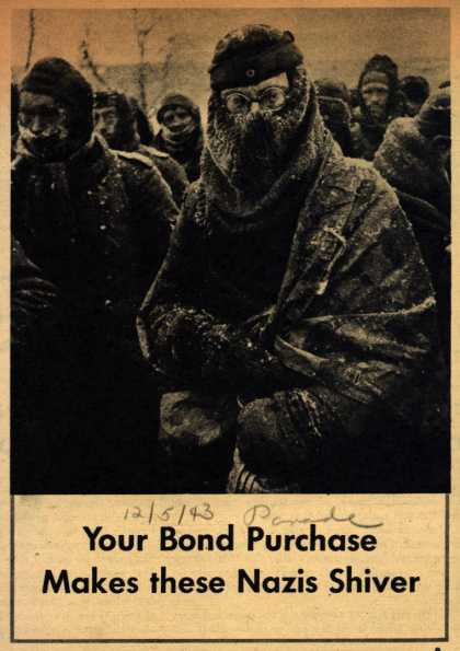U. S. Government's War Bonds – Your Bond Purchase Makes these Nazis Shiver (1943)