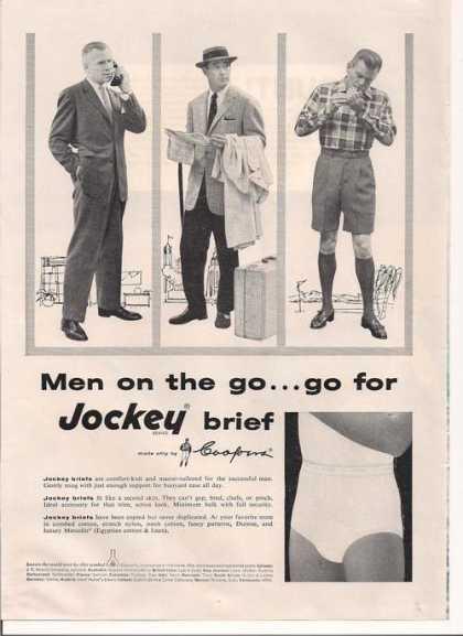 Jockey Mens Brief (1957)