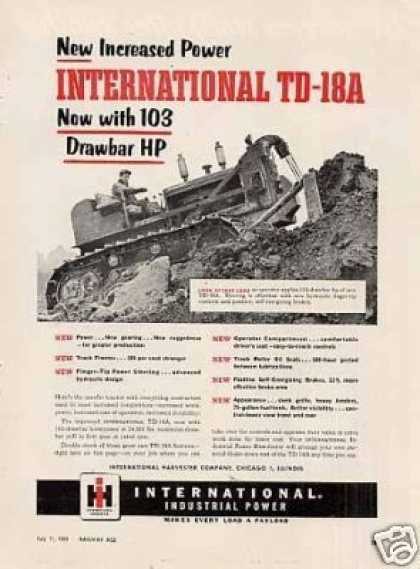 International Td-18a Tractor (1955)