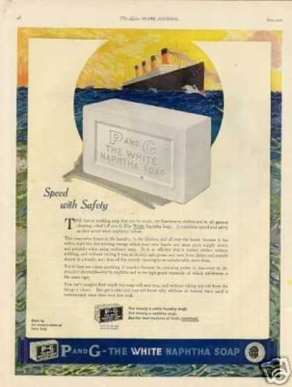 P and G Soap Color (1921)