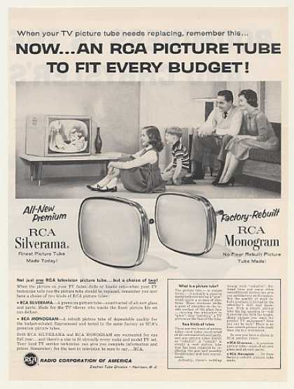 RCA Silverama Monogram TV Picture Tubes (1959)