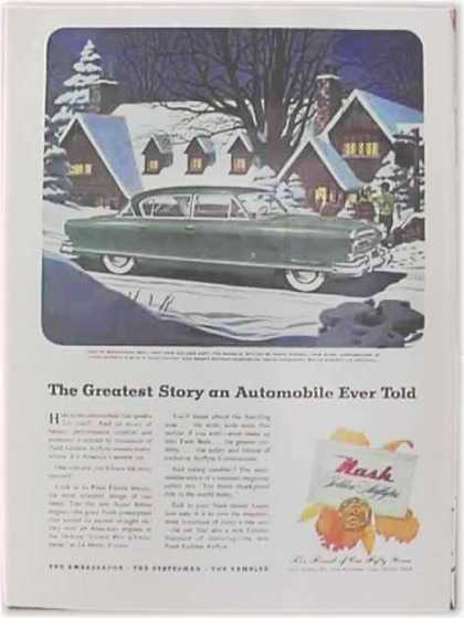 Nash Motors Car – Nash Golden Airflyte – Green (1952)