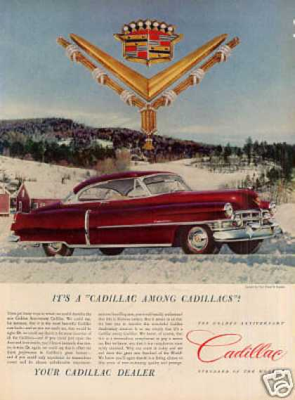 "Cadillac Car Ad ""It's a Cadillac Among... (1952)"