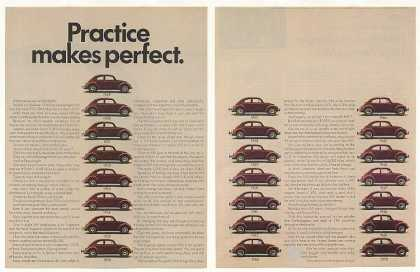 Volkswagen Practice Makes Perfect '49-'70 VW 2P (1970)