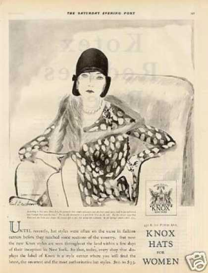 Knox Ladies Hat (1928)