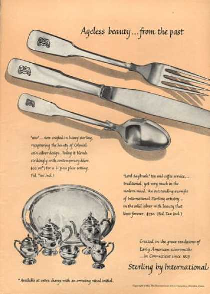 International Sterling Silver Saybrook (1953)