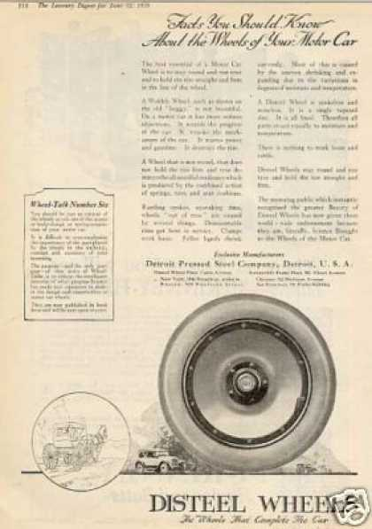 Disteel Wheels (1920)