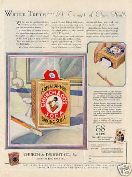 Arm & Hammer Baking Soda Color (1927)