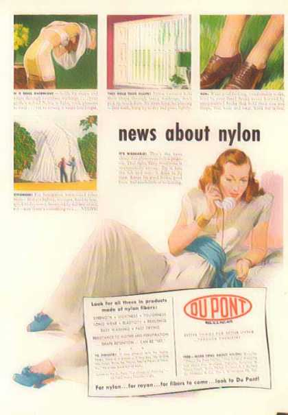 Du Pont – News About Nylon (1948)