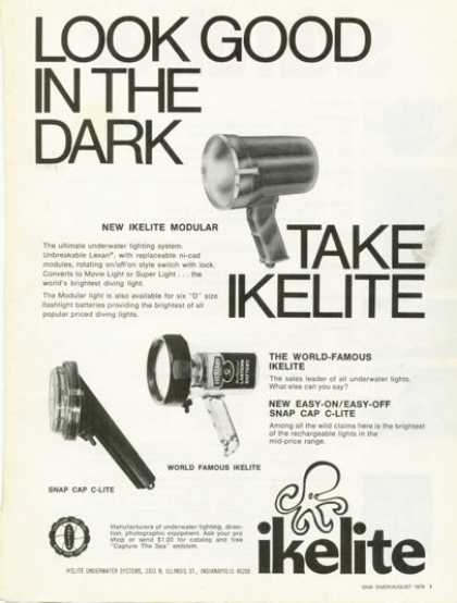 Ikelite Underwater Photography Lite Light (1975)