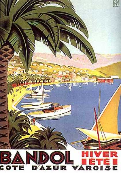 Bandol by Roger Broders (1930)