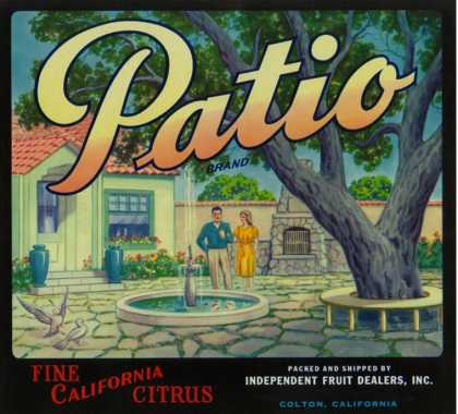 Patio Orange Label – Colton, CA