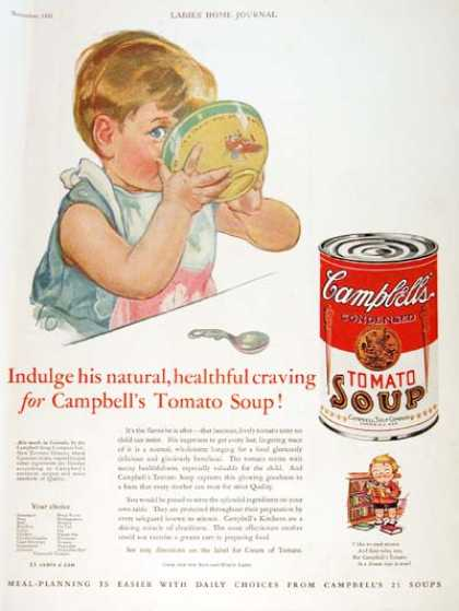Campbell's Soup #2 (1931)