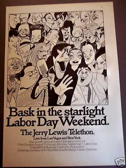 Jerry Lewis Telethon Labor Day Tv (1975)