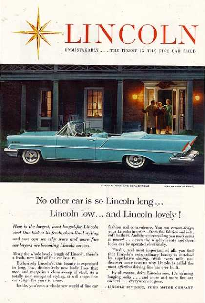 Ford's Lincoln (1957)