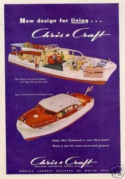 Chris-craft Boats (1952)